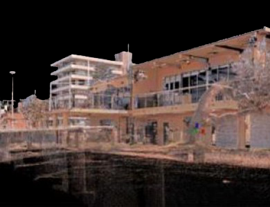 Laser Scanning-the point cloud